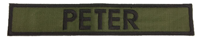 Battlefront Army Bag Patches