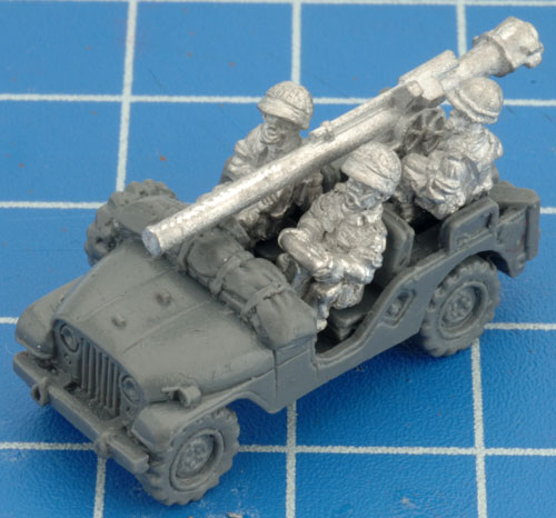 Assembling the Anti-tank Jeep Group (TIR120)