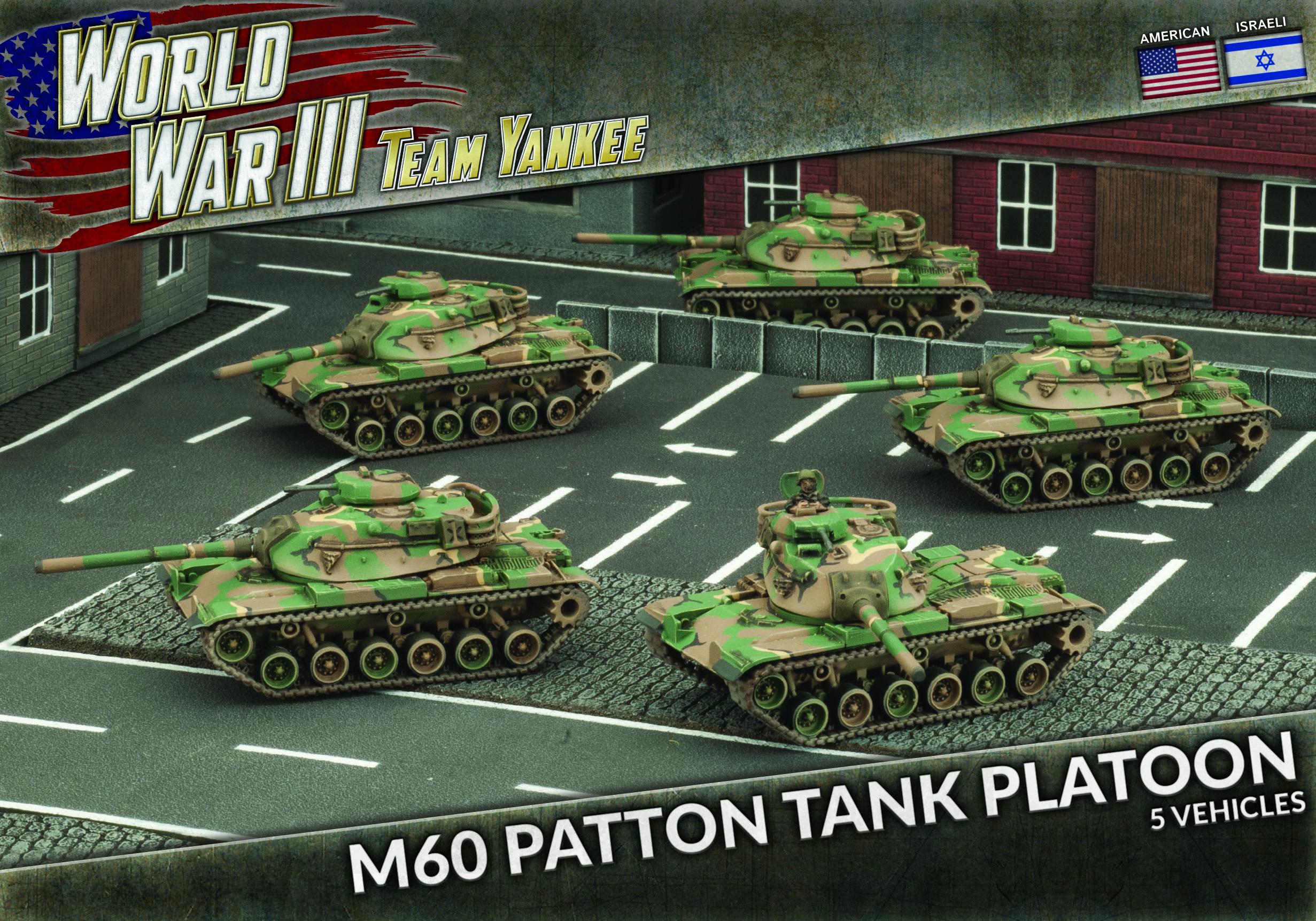 488b298c81a2 M60 Patton Tank Platoon (Plastic) (TUBX11)