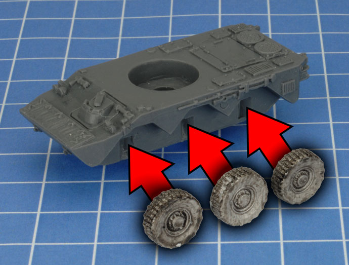 AMX-10 RC Assembly (TFBX05)