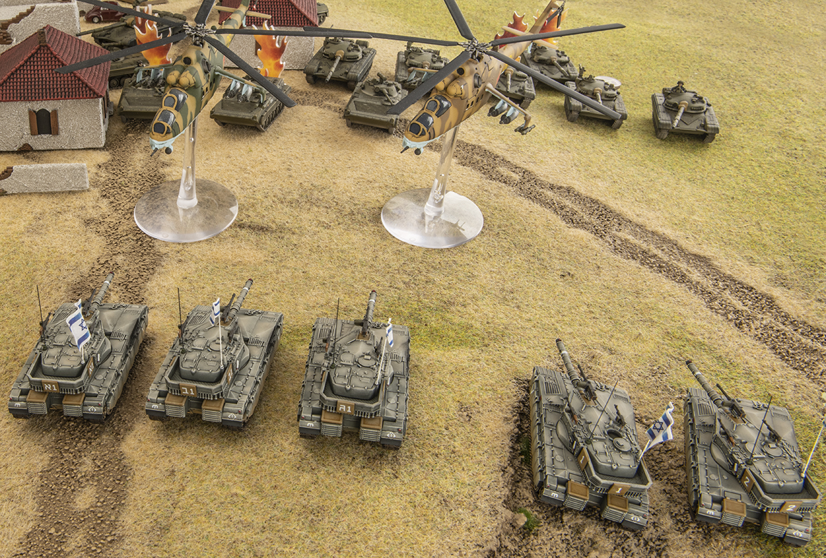 Golan Heights Clash - Team Yankee Battle Report