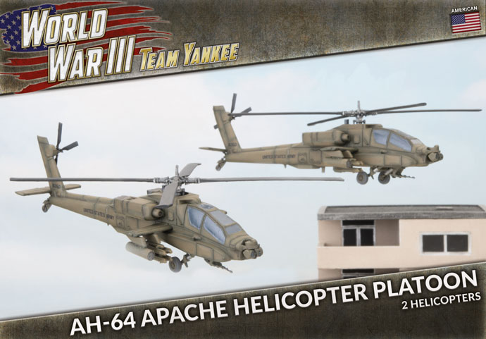 AH-64 Apache Helicopter Platoon (TUBX21)