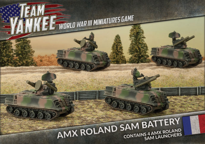 AMX Roland SAM Battery (TFBX06)