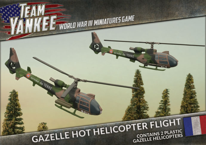 Gazelle HOT Helicopter Flight (TFBX08)